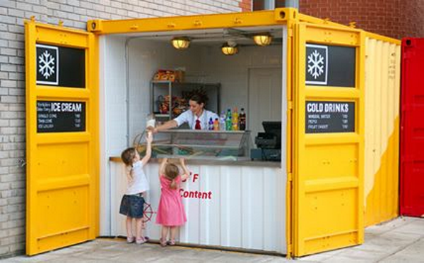 Container Pop Up Cafes Nexus Container Building Solutions