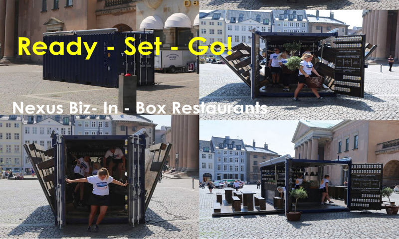 Biz-iIn-A-Box Container Cafes