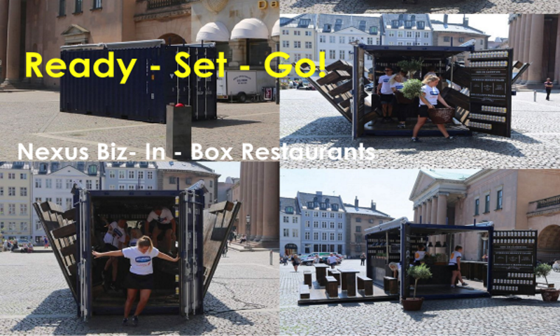 Biz-In-A-Box Container Cafe
