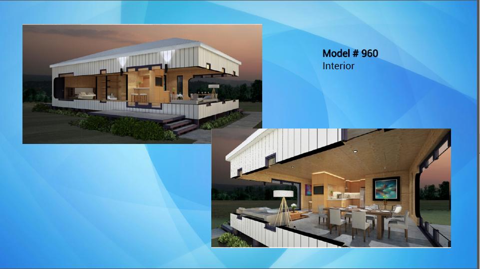 Nexus Container Home - 960sf Interior