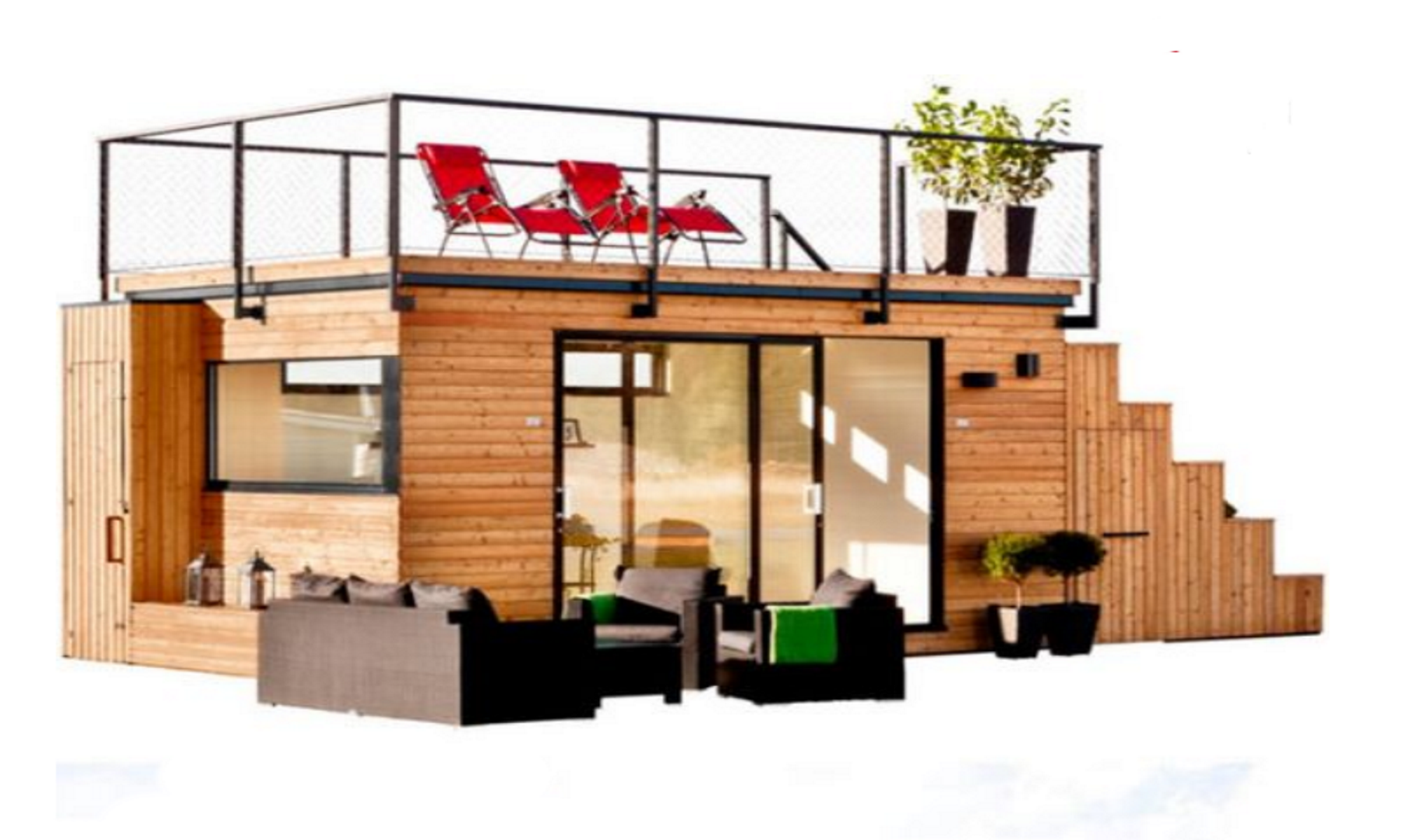 Container Home Entertainment Center