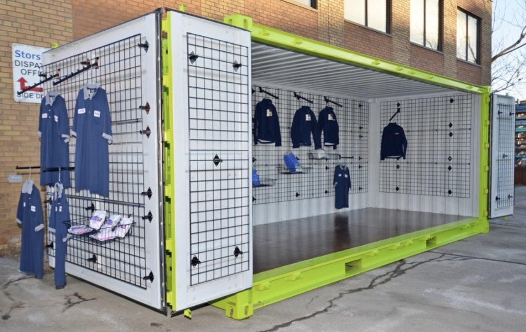 40 ft Pop Up Retail Shop